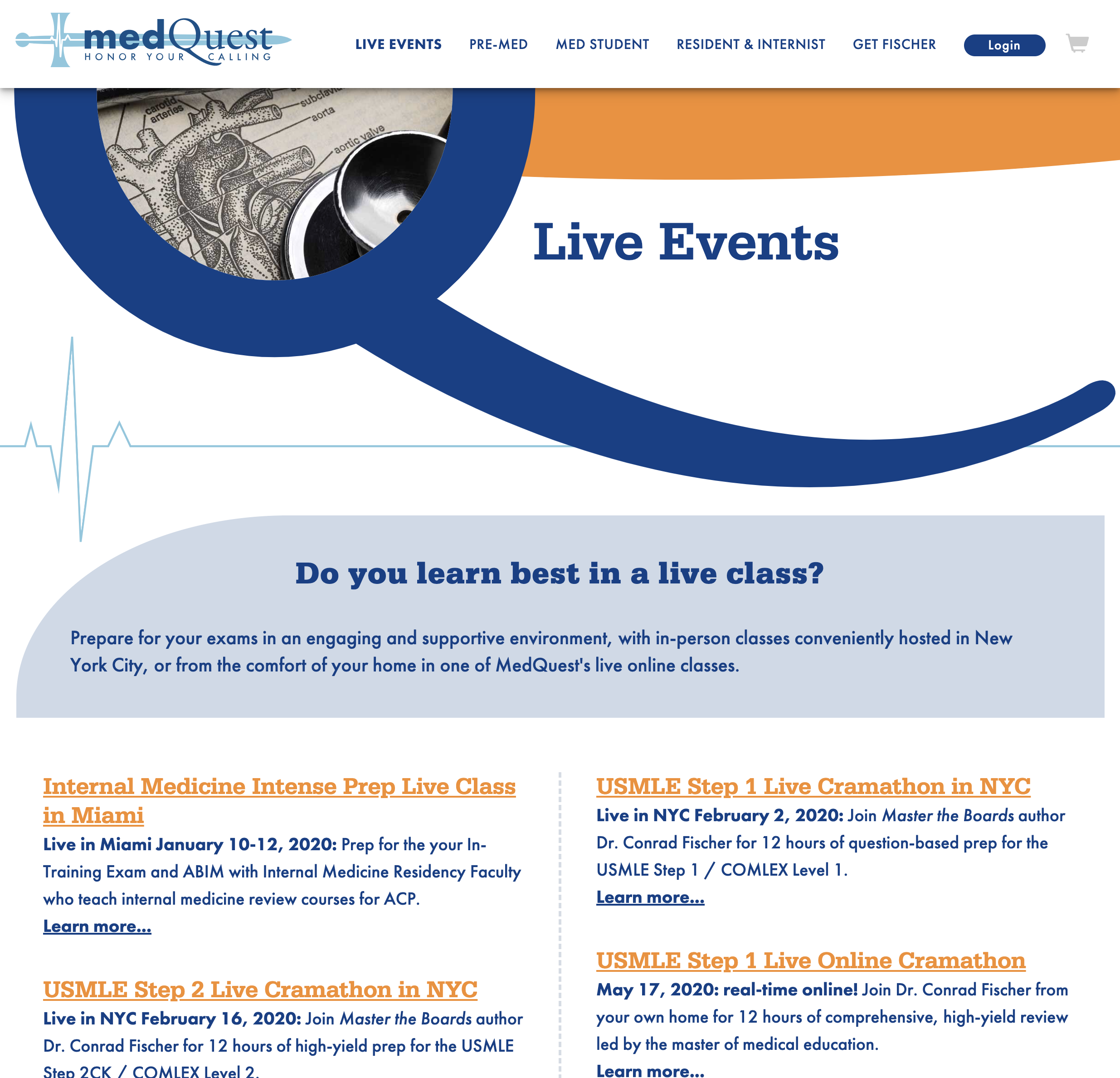 MedQuest — Category/Live Events